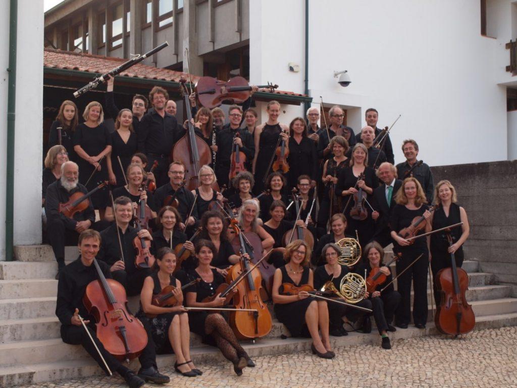 Gruppenfoto: Orchesterreise nach Portugal 2018